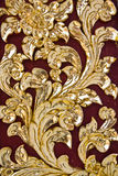 Thai style art pattern Royalty Free Stock Images