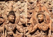 Thai style art Royalty Free Stock Image