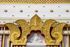 Thai style art at Wat Prathat Panom, Nakornpanom province, Thailand Stock Image