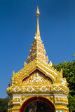 Thai style art at Wat Prathat Panom, Nakornpanom province, Thailand Royalty Free Stock Images