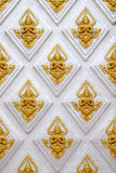 Thai style Background. In Temple Stock Photography