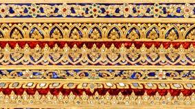 Thai style background. Royalty Free Stock Image