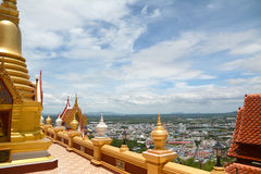 Thai style balcony Royalty Free Stock Photo