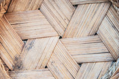 Thai-style bamboo basketry Stock Image