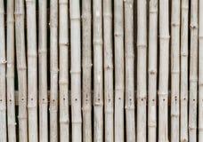 Thai style bamboo fence Royalty Free Stock Image