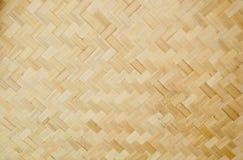 Thai Style Bamboo Handcraft Stock Image
