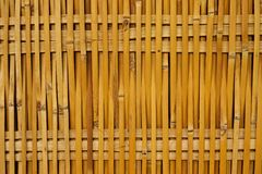 Thai style bamboo house wall Royalty Free Stock Photography