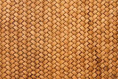Thai Style Bamboo Wall Royalty Free Stock Images