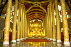 Thai style beautiful temple Royalty Free Stock Image