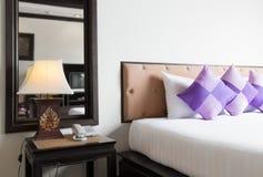 Thai style bedroom Stock Image