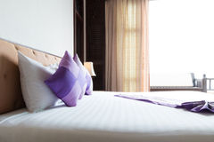 Thai style bedroom Royalty Free Stock Images