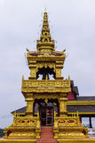 Thai Style Bell Tower in wat sangkaew Stock Photos