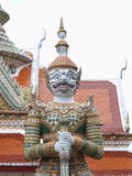 Thai style big giant statues Stock Image