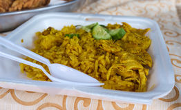 Thai Style Biryani Rice Royalty Free Stock Photography