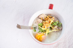 Thai style breakfast Stock Images