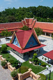 Thai style Buddhist temple Stock Photos