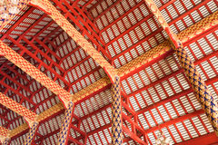 Thai style building. royalty free stock photos