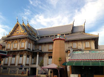 Thai style building Royalty Free Stock Photography