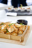 Thai Style Canapes Royalty Free Stock Photo