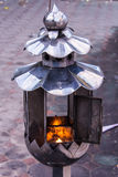 Thai style candle in Thai temple, Chiangmai thailand Royalty Free Stock Photography