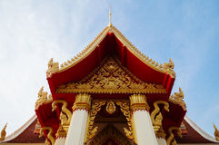 The Thai style chapel Stock Image