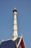 Thai style chimney on the crematory Stock Photo