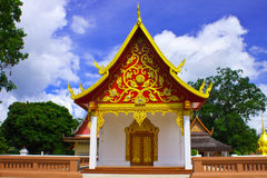 Thai style church Stock Images