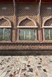 Thai Style church windows. Stock Photo