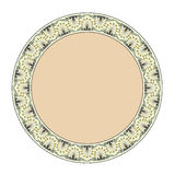 Thai style  circle frame Royalty Free Stock Image