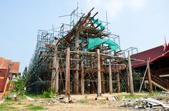 Thai style construction. Stock Image