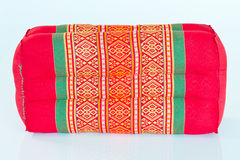Thai style cotton pillow Royalty Free Stock Photography