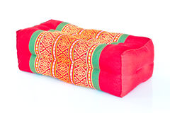 Thai style cotton pillow Royalty Free Stock Photo