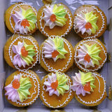 Thai style cup cake Stock Images