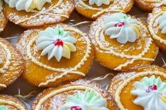 Thai style cupcakes Stock Photo