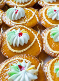 Thai style cupcakes Royalty Free Stock Images