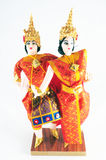 Thai style dancing doll Stock Image