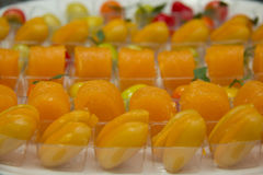 Thai  style dessert colorful Stock Photo