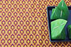 Thai style dessert Stock Photos