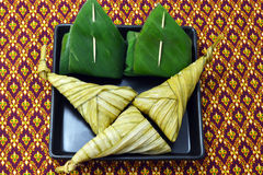Thai style dessert Royalty Free Stock Image