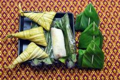 Thai style dessert Royalty Free Stock Photos
