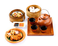 Thai dim sum food style isolated  Stock Image