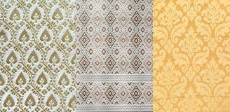 Thai style fabric Stock Photo