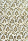 Thai style fabric pattern Stock Image