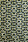Thai style fabric pattern Royalty Free Stock Photo
