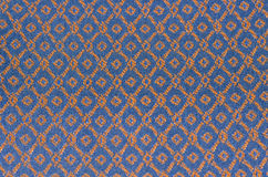 Thai style fabric pattern Royalty Free Stock Image