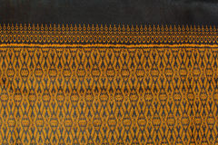 Thai style fabric pattern Stock Image