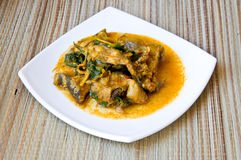 Thai style fish curry Royalty Free Stock Photography