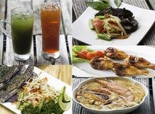 Thai style food Stock Photos