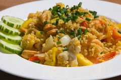 Thai style fried rice Stock Image