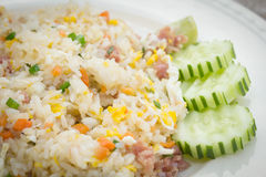 Thai style fried rice Stock Photography